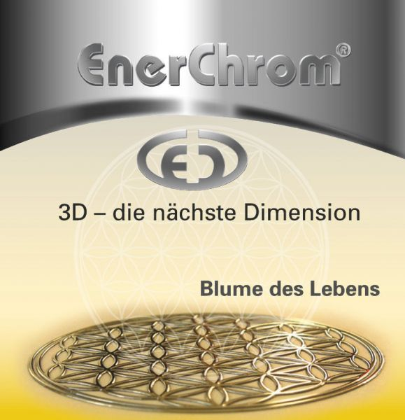 EnerChrom Flyer Blume des Lebens - designed by atalantes spirit
