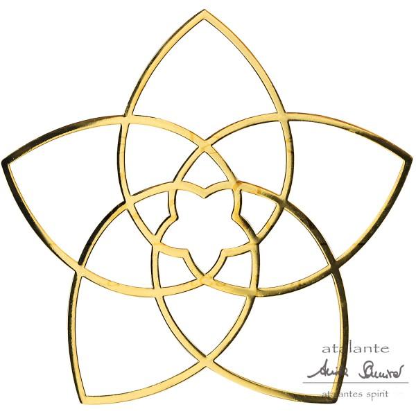 Venusblume EnerChrom® Metall-Aufkleber | Flyer | designed by atalantes spirit®