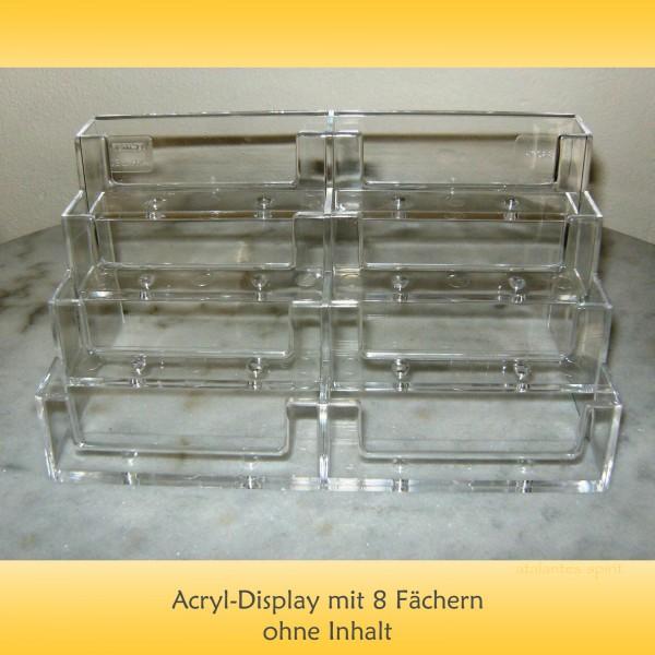 Acryldisplay | Glücksmünzen Zitat-Kärtchen | designed by atalantes spirit®